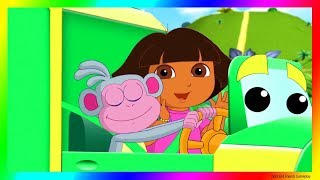 Dora and Friends The Explorer Cartoon 💖 Garbage Truck Adventure Gameplay as a Cartoon !