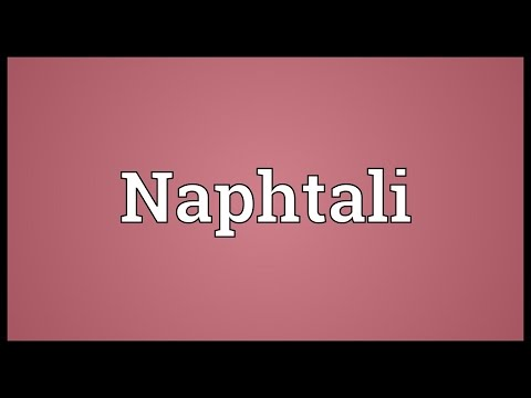 Naphtali Meaning