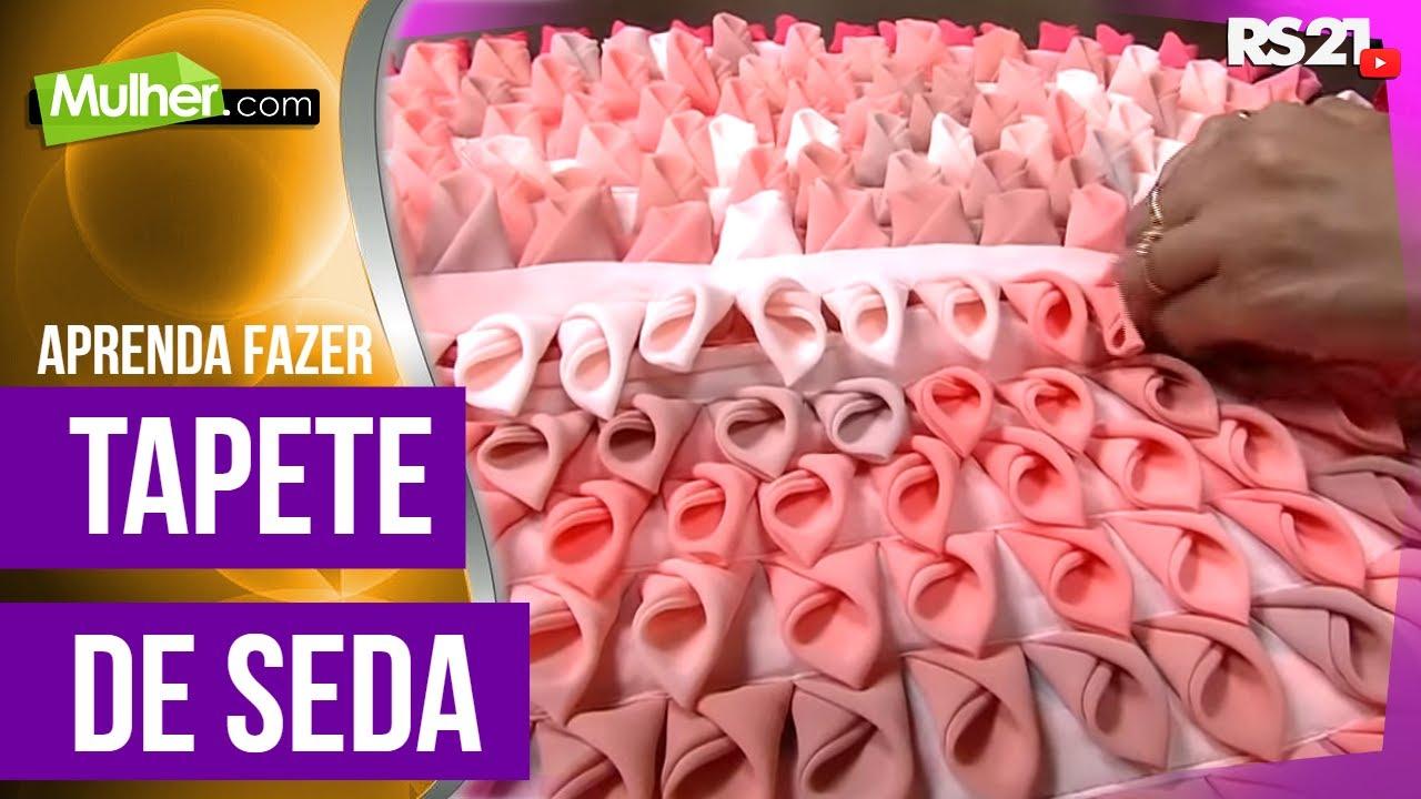 ブラジルで人気の手芸♥花びらシルクマットの作り方