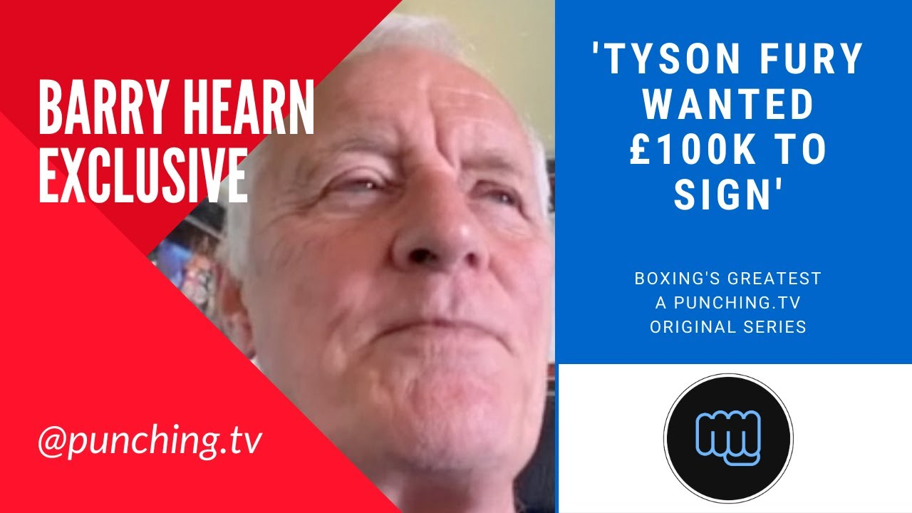 HEARN: TYSON WANTED TO SIGN FOR £100k