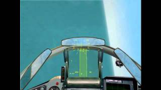 Mig-29 vs F-15 Dogfight (2002 Flanker 2.5)