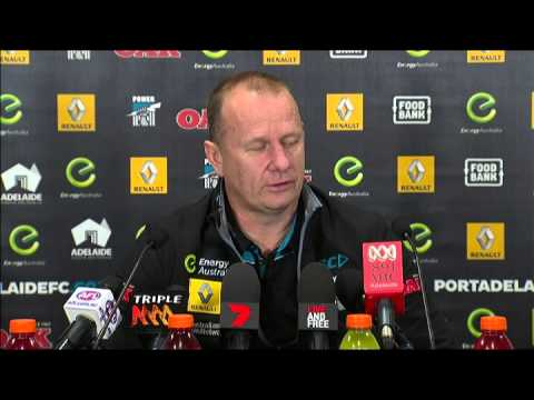 Hinkley post-game v Adelaide