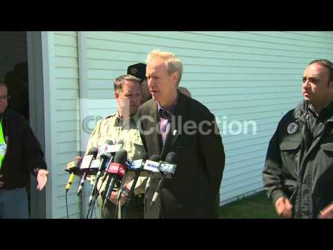 IL GOV TORNADO PRESS CONFERENCE-WALKUP