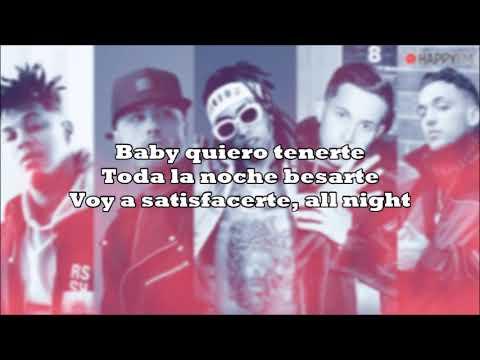 Fuego Nicky Jam Ft De La Ghetto Amenazzy & CTangana - Good Vibes Remix Letra