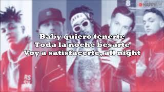 Fuego, Nicky Jam Ft. De La Ghetto, Amenazzy & C.tangana - Good Vibes