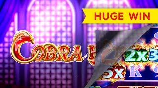 HUGE WIN! Cobra Hearts Slot - INCREDIBLE LUCK!