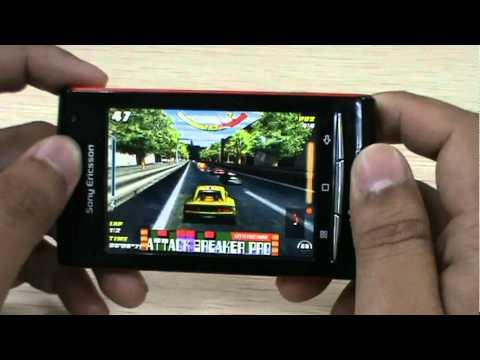 SonyEricsson W8 : Game
