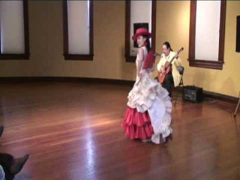 Flamenco Garrotin with fan and hat by Ku-Hsiang Lin and Angel Fargas