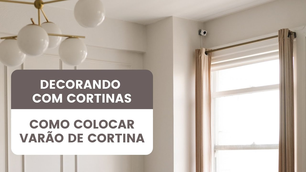 Como colocar var o de cortina youtube for Como poner ganchos de cortinas