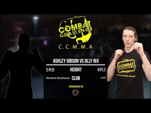 Combat Challenge West Midlands 4: Ashley Gibson vs Olly Rix
