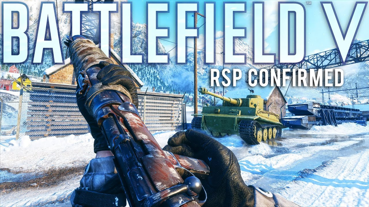 Battlefield V RSP Private Games coming and will be free.