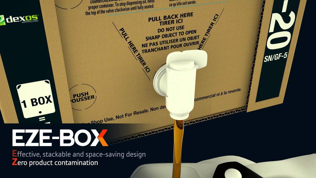 Eze Box Bag In Box Oil Dispensing System Youtube