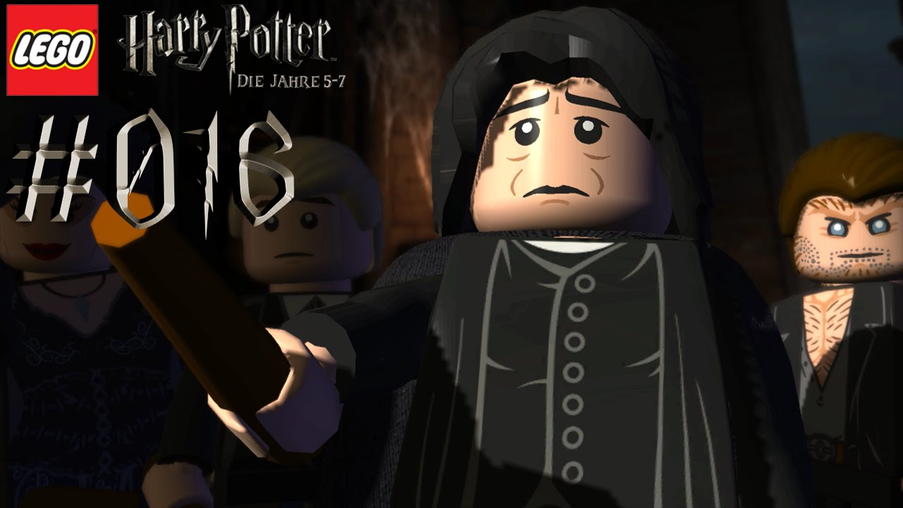 1db2dce39 LEGO HARRY POTTER DIE JAHRE 5-7  016 Severus Snape ☆ Let s Play LEGO Harry  Potter  Deutsch  - YouTube