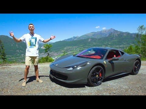 Самодельный Феррари Vs Настоящий Ferrari