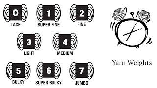 Yarn Weights by Region