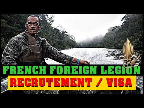 FRENCH FOREIGN LEGION RECRUITMENT - How to obtain a Visa