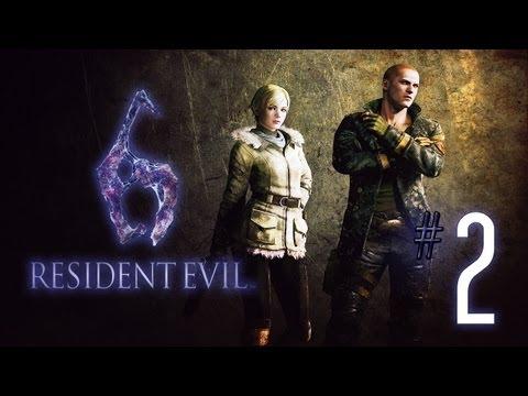 Lets Play Resident Evil 6 [Sherry] (Blind) #02 - Ustanak, der fiese Kerl
