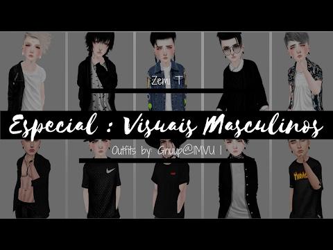 Especial : Dez visuais masculinos IMVU ! ZT