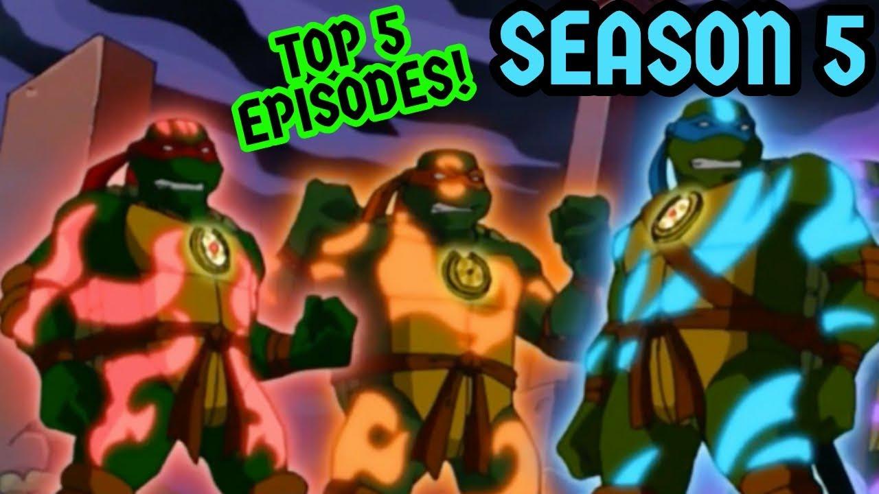 Top 5 Tmnt 2003 Episodes Season 5 Youtube