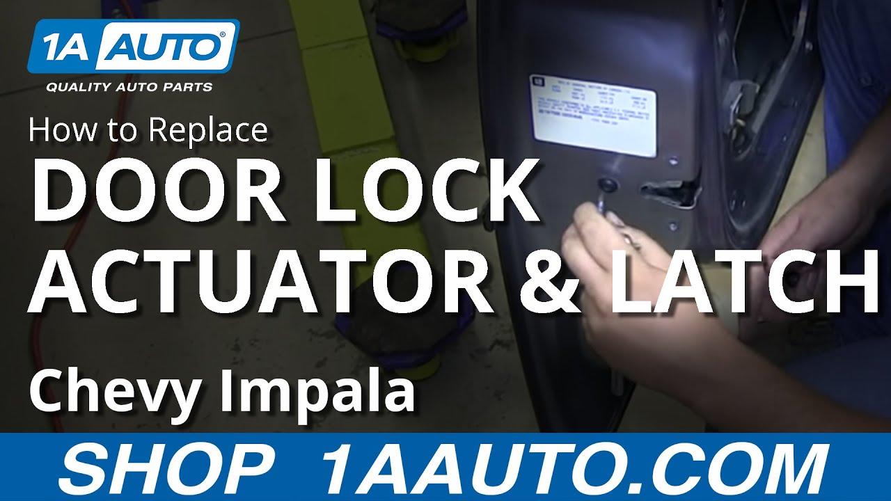 How To Install Replace Front Power Door Lock Actuator