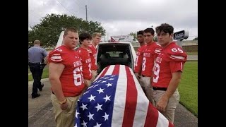 Teens step in as pallbearers for war vet with no male relatives