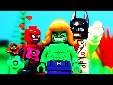 Lego Bad Superheroes Valentine's Day