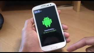 How to get into Download Mode on Samsung Galaxy S3 (SIII, i9300)