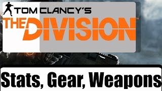 Download The Division Gear Stats Videos - Dcyoutube