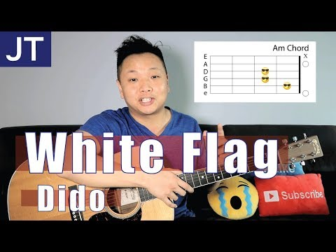 White Flag - Dido Guitar Tutorial