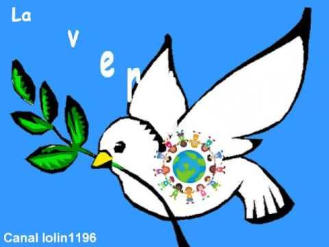 Canción Para El Día De La Paz Palomas De La Paz Youtube