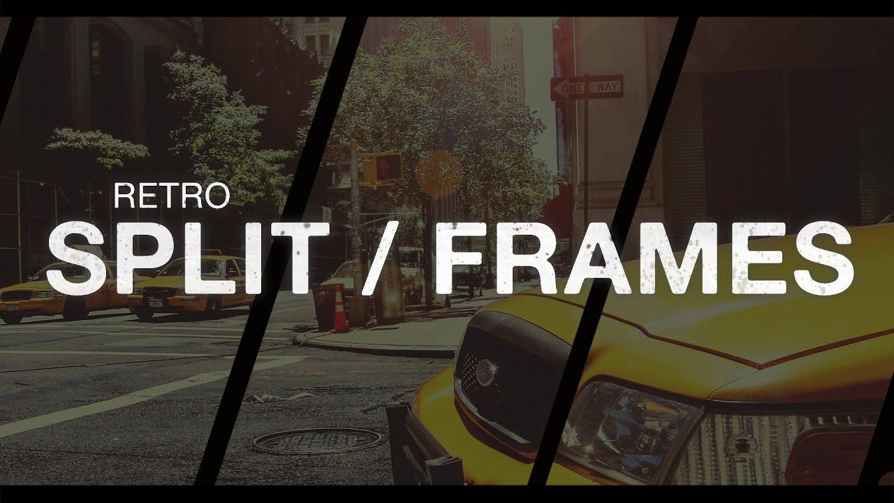 Retro Split Frames Slideshow - YouTube