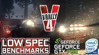 V-Rally 4 Day One Edition on GTX 760 | Q9550 @3.4GHz | 8GB DDR2 - Benchmark and first time gameplay