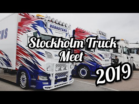 #63 Vlogg Från Stockholm Truck Meet 2019 (Vlog From Stockholm Truck Meet 2019) Subtitles Available