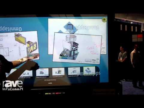 InfoComm 2014: rp Visual STS Interact Short-Throw Screen