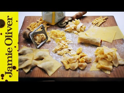 How To Make Pasta Shapes | Jamie's Comfort Food | Gennaro Contaldo