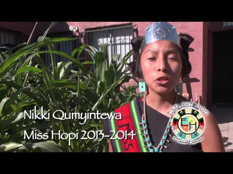 EXPLORE HOPI Invitation by Miss Hopi