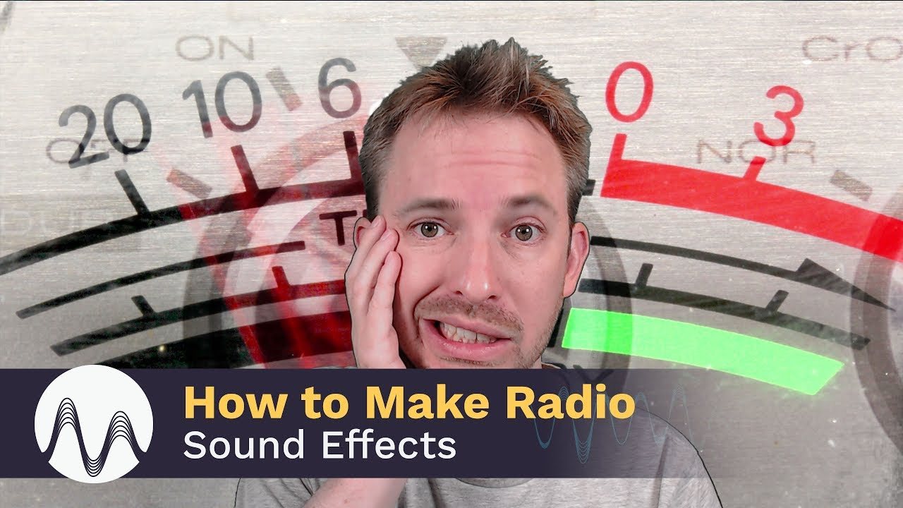 How to Make Radio Sound Effects - YouTube