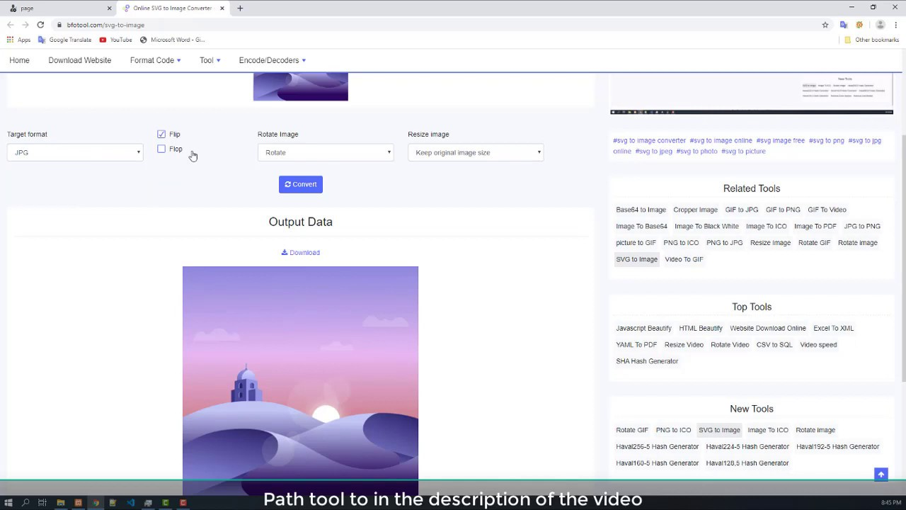 Online Svg To Image Converter Youtube