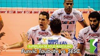 [Points] FUNVIC TAUBATE vs. SESC RJ | Superliga De Volei Masculina