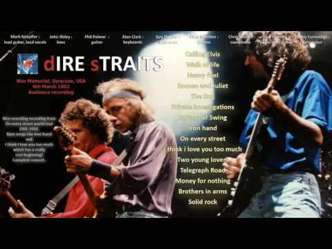 Private investigations — Dire Straits 1992 Syracuse LIVE [audio only]