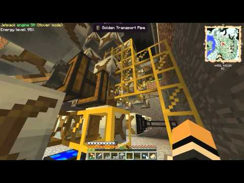 Minecraft FTB Unleashed Ep16! Water Mills!