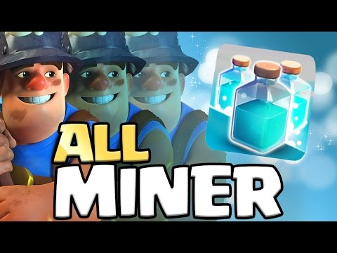 ALL MINER ATTACK  And Clone Spells | Can We 3 Star?? | Clash Of Clans