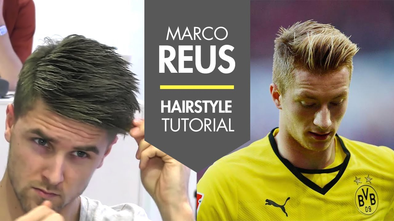 How To Style Your Hair Like Marco Reus Fresh Men S Football Player Hair Tutorial