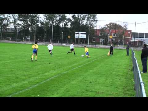 Bekerwedstrijd Naaldwijk D1 - Haaglandia E-Top dd 13-10-2012