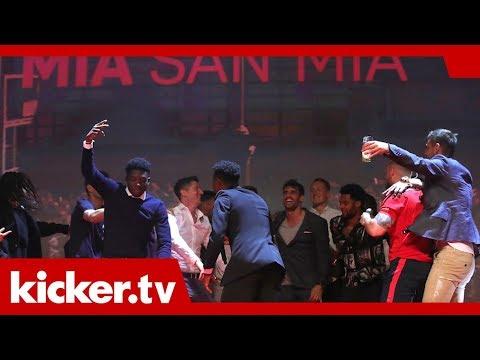 Die Party-Nacht der Bayern - So feierte der Rekordmeister | kicker.tv