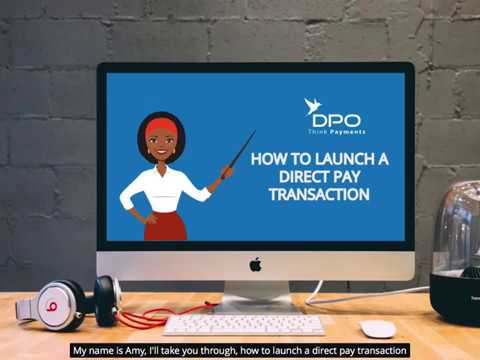How To Launch A Direct Pay Transaction