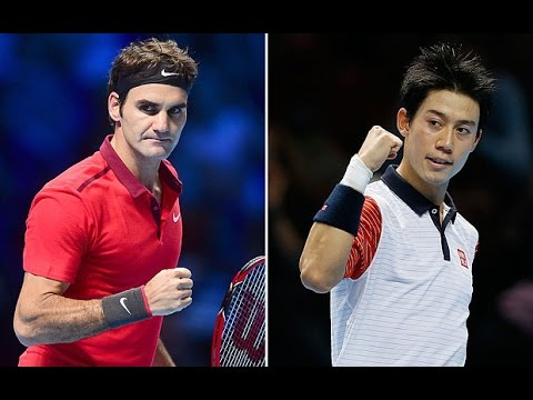 ATP World Tour Finals 2014 Federer Vs Nishikori Highlights
