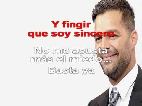 Ricky Martin - Basta ya (Karaoke)