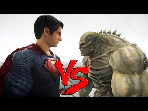 SUPERMAN (Man of Steel) VS ABOMINATION -...