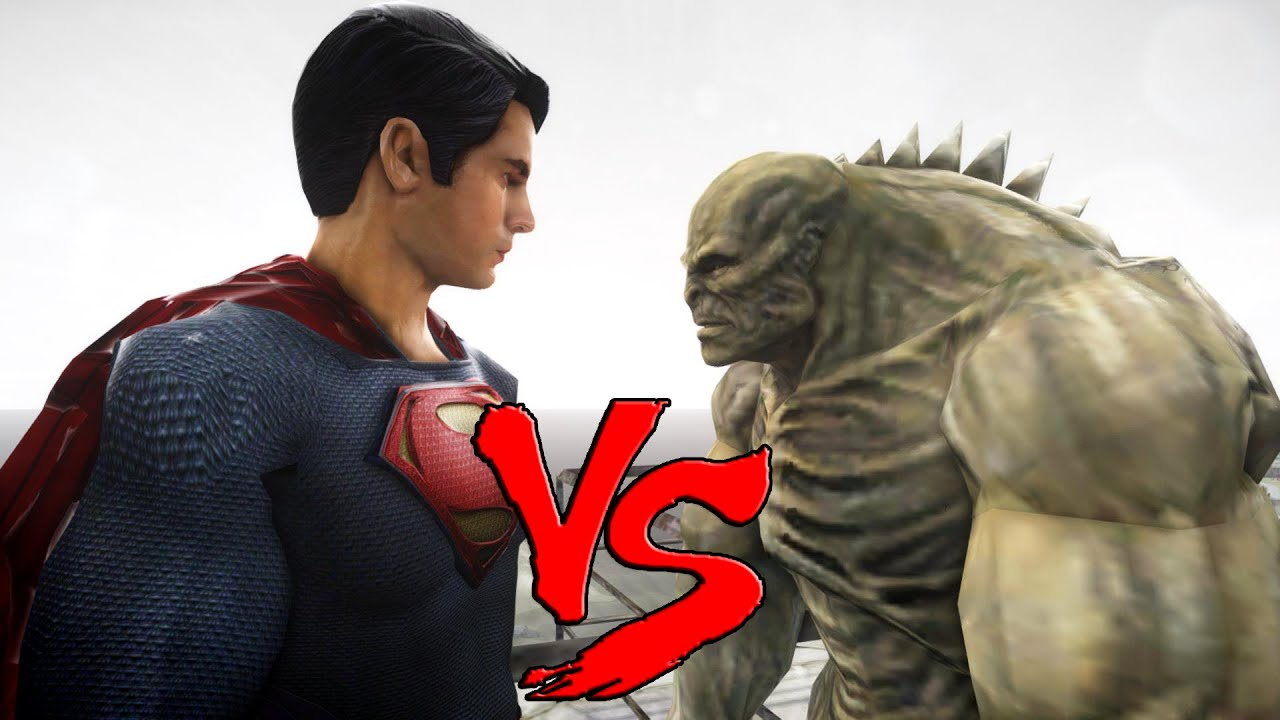 SUPERMAN (Man of Steel) VS ABOMINATION - EPIC BATTLE - YouTube
